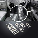 Chrome Window Power Switch Cover Set For Mercedes Benz W204 W212 W207 W166 W246 X204 W176 W117