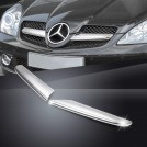 Matt Chrome Front Grille Moulding Trim For Mercedes Benz R171 (2004-2008)