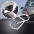 Chrome Side Mirror Ring Trim For Mercedes Benz W203 W211