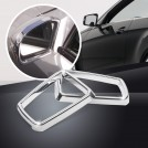 Chrome Side Mirror Ring Trim For Mercedes Benz W204 W212