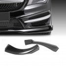 Carbon Fibre Front Apron Type P For Mercedes Benz CLA Class W117 Pre Facelift (2013-2016)