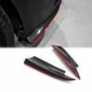 EURSPEC Carbon Fibre Rear Apron w/ Red Trim Type X For Mercedes Benz CLA Class W117 -2013-ON (AMG/CLA45)