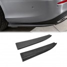 Carbon Fibre Rear Apron Lower Side Valence For Mercedes Benz E Class W213 - 2017-2018 (AMG Bumper)