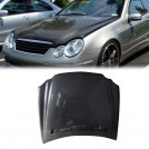 Carbon Fibre Front Hood Bonnet Type OE For MERCEDES BENZ CLK CLASS W209 Pre & Facelift - 2003-2008