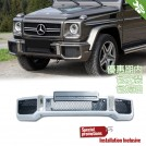 PP Front Bumper 63 AM Style For Mercedes Benz G Class W463 - 1990-2013