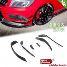 EURSPEC Carbon Fibre Front Diffuser Type A For Mercedes Benz A Class W176 Pre Facelift -2012-2015 [AMG/A45] 6pcs