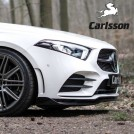 Genuine Carlsson Front Lip Spoiler For Mercedes Benz A Class W177 AMG - 2018-2019