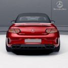 Genuine OEM Mercedes Benz C63S AMG NIGHTPACKAGE Rear Diffuser W/tip For C Class W205 Coupe & Convertible Pre&Facelift - 2015-2019 (For AMG Bumper)