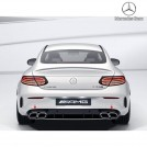 Genuine OEM Mercedes Benz C63S AMG Rear Diffuser W/tip For C Class W205 Coupe & Convertible Pre&Facelift - 2015-2019 (For AMG Bumper)