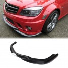 Eurspec Carbon Fibre Front Lip Type 2 For Mercedes Benz C Class W204 C63 Pre-facelift- 2007-2011 (C63 AMG Bumper)