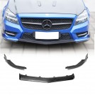 Eurspec Carbon Fibre Front Lip For Mercedes Benz Cls Class W218 Pre-facelift - 2011-2015 (For AMG Bumper)
