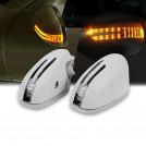 Arrow LED Side Mirror Cover For Mercedes Benz W221 (2005-2009)
