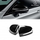 Genuine Mercedes Benz Gloss Black Replacement Mirror Cover For  W205 W213- 2014-2018