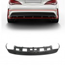 Rear Diffuser Black Trim Tail Cover CLA45 Style For Mercedes Benz CLA Class W117 CLA250 (AMG) 2013-2016