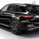 Genuine Mercedes Benz GLC43 AMG Rear Fender Flares Wheel Arches For GLC Class SUV X253 Coupe C253 Pre & Facelift - 2015-2021