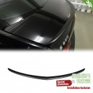 OES Matte Black Rear Spoiler Type 2 For Mercedes Benz E Class W207 Pre & Facelift - 2010-2016