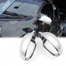 GRD Volkswagen Golf 5 (2004-2009) Mirror Cover - Matt Silk Chrome