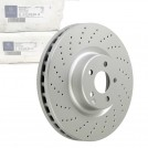 Mercedes Benz OEM C63 Rear Brake disc W204