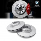Genuine OEM BMW M Performance Rear Brake Disc for BMW F20 F21 F22 F23 F30 F31 F32 F33 F36 F34