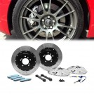 ALCON Rear 4 Pot 355 Disc Brake Kit Set - Silver Grey (left/right)