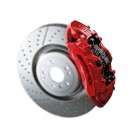 Mercedes Benz  Front Brake Caliper (Red) For W204 W207 W212 W218