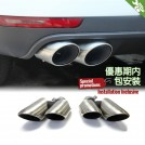 Exhaust Tip Type S (Round Tip) For Porsche Macan 2014-2016 (00--00)