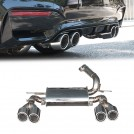 OES Rear Exhaust Muffler W/tip For BMW 3 Series F30 / 4 Series F32( 320/420 O--- ) To (M3 OO--OO)