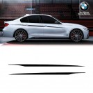 Genuine OEM BMW M Performance Accent Side Strips Sticker For 3 Series F30 F31 Pre-LCI & LCI - 2012-2017