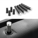 BMW Carbon Fibre Metal Door Pin (4pcs)