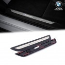 GENUINE OEM Led Illuminated Door Sill Trim Set (M Performance Logo) For BMW X3 F25 X4 F26