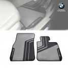 Genuine OEM M PERFORMANCE FLOOR MATS FOR BMW F20 F21 F22 F23 - FRONT