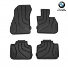 Genuine OEM BMW All Weather Rubber Floor Mat Set For X1 F48 - Front & Rear