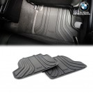 Genuine OEM BMW All Weather Rubber Floor Mat Set For F21 F22 F87 M2 - Rear