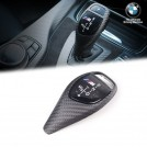 Genuine OEM M Performance Carbon Fibre Shift Knob Cover Replacement / Gear Selector Swith Trim (RHD) For BMW F20 F21 F22 F23 F30 F31 F32 F33 F33 F34 F36  X3 F25 X4 F26 ( Sport Version )