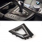 Genuine  BMW M Performance Center Console Trim (Carbon Pattern) For Gear Selector For F80 M3 F82 F83 M4 (RHD)