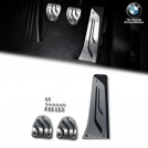 Genuine  BMW M Performance Stainless Steel Foot Pedal Pads For F20 F21 F22 F87 M2 F23 F80 F30 F31 F32 F33 F34 F82 F36 F10 F11 F12 F13 E84 F25 F26