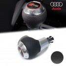 Genuine OEM Perforated Leather Gear Shift Knob RS Style For Audi A3 A4 A5 A6 A7 Q3 Q5