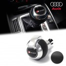 Genuine OEM Leather Gear Shift Knob S Tronic Style For Audi A3 A4 A5 A6 A7 Q3 Q5