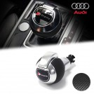 Genuine OEM Perforated Leather Gear Shift Knob S Tronic Style For Audi A3 A4 A5 A6 A7 Q3 Q5