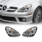 Projector DRL Style Front Head Light Lamp For Mercedes Benz SLK Class R171 2004-2010 (RHD)