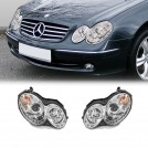 Projector DRL Style Front Head Light Lamp For Mercedes Benz CLK Class W209 2002-2009 (RHD)