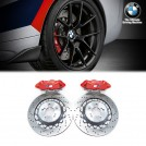 Genuine OEM M Performance Competition Rear Brake Kit 4pot (RED) With Disc For F87 M2 F80 M3 F82 F83 M4