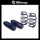 3D Design Low-down Spring Set For BMW F40 M135i F44 M235i (Front -20mm Rear -20mm)