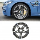 "Genuine OEM 19"" M Double Spoke 437M Fer.grey Light Alloy Rim  Front Wheel For BMW F87 M2 & M2 Competition F80 M3 F82 M4 F83 M4"