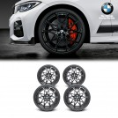 "Genuine OEM 20"" M Performance Y-spoke 795M Matt Black Front & Rear Light Alloy Wheel & Tire Set For BMW G20 (Forged)"