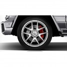 "Genuine 21"" Amg Chrome Forged Front & Rear Wheel  For Mercedes Benz G Class G63 / G65 AMG"