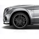 "Genuine 21"" Amg Alloy Front & Rear Wheel  For Mercedes Benz X166 W164"