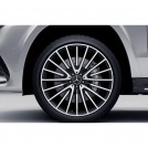 "Genuine 22"" Amg Alloy Front & Rear Wheel For Mercedes Benz GLS-Class X166"