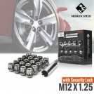 MISSION SPEED M12x1.25 Short Series Open End Wheel Lug Nut