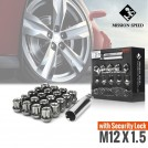 MISSION SPEED M12x1.5 Short Series Open End Wheel Lug Nut